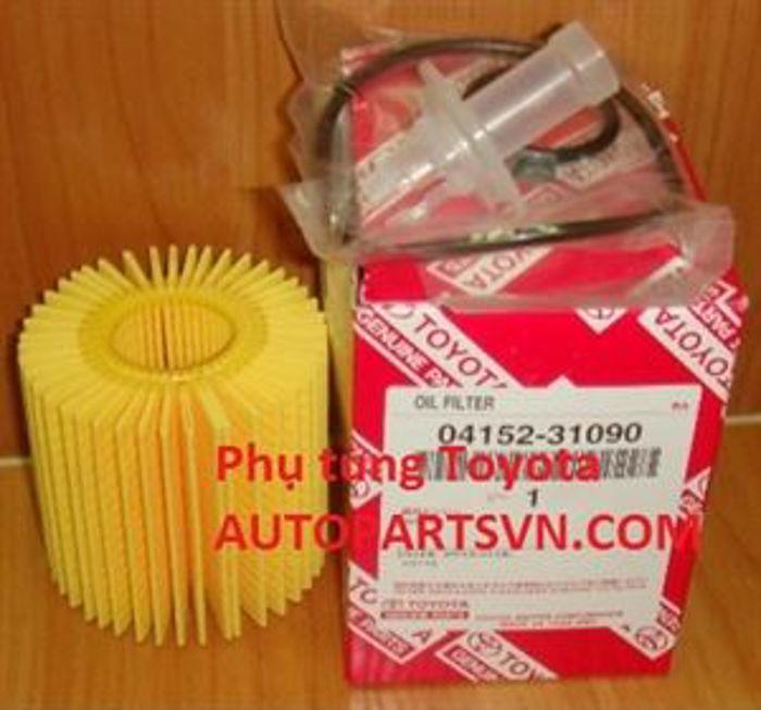 Picture of 04152-31090 Lọc dầu giấy Toyota Venza 1AR, Camry 2GR, 2AR, Highlander 2GR