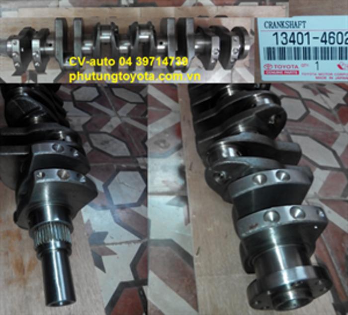 Picture of 13401-46020 13401-46021 13401-46022 Trục cơ Toyota Crown, Lexus GS300/400/430 động cơ 2JZGE