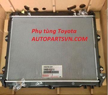 Hình ảnh của16400-0C210 Két nước Fortuner Innova máy xăng
