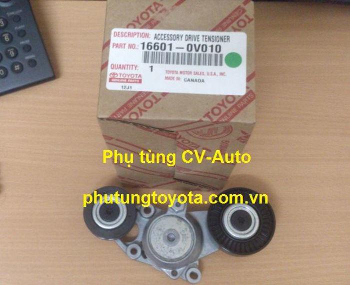 Picture of 16601-0V010 Cụm tăng curoa tổng Toyota Camry 2.5 Mỹ  chính hãng