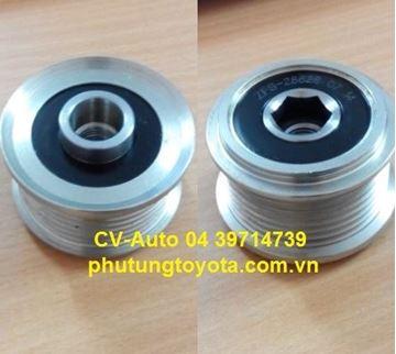 Hình ảnh của27415-0L030 Puly Bu Ly máy phát Toyota Hilux, Fortuner máy dầu 1KD, 2KD