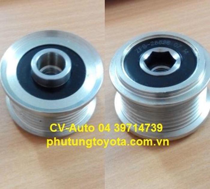 Picture of 27415-0L030 Puly Bu Ly máy phát Toyota Hilux, Fortuner máy dầu 1KD, 2KD