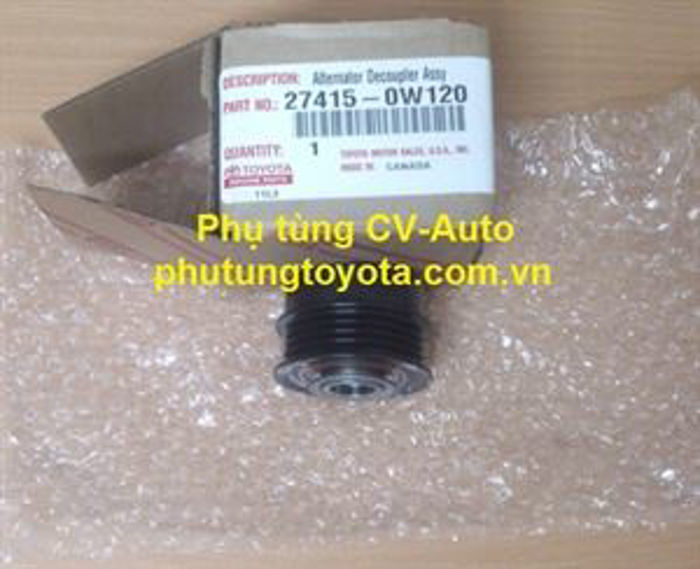 Picture of 27415-0W120 Puly / Buly máy phát Toyota Camry 2.5 Mỹ