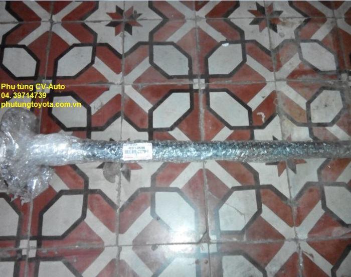 Picture of 42311-0K090 Cây láp sau, trục láp sau, các đăng sau Toyota Fortuner chính hãng