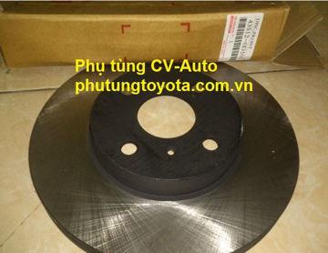 Hình ảnh của43512-0D100 Đĩa phanh Toyota Vios