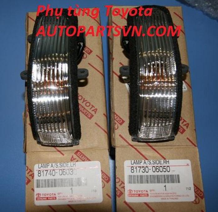 Picture of 81740-06030 81730-06050 Xi nhan gương Toyota Camry, Vios, Altis