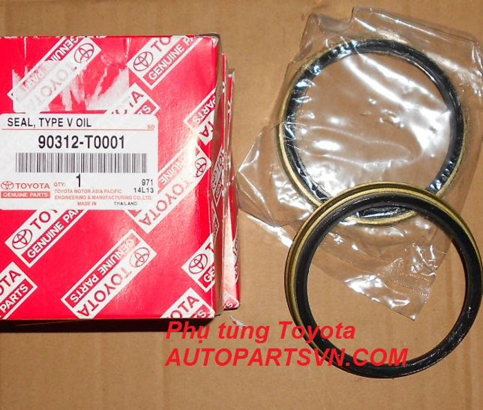 Picture of 90312-T0001 Phớt láp Hilux Fortuner