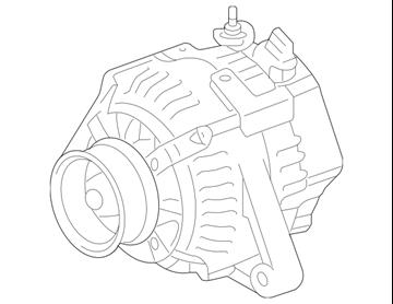 Hình ảnh của27060-36050 Máy phát điện Toyota Camry Mỹ LE 2.5L