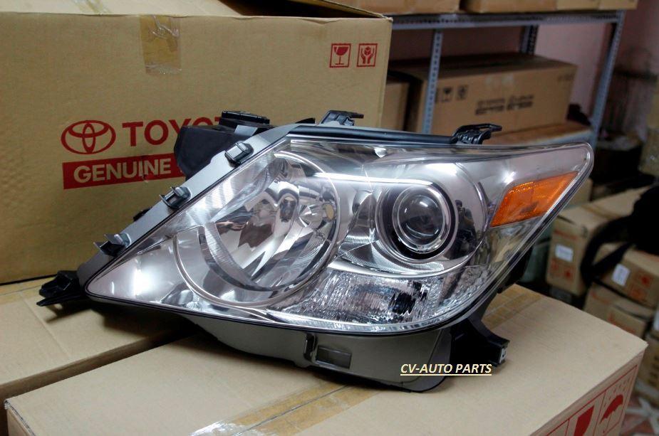 Picture of 81130-60D60 81130-60D61 81170-60D30 81170-60D31 Đèn pha Lexus LX570 chính hãng