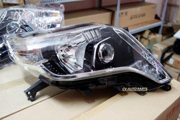 Hình ảnh của81145-60J10 Đèn pha phải Toyota Land Cruiser Prado model 2013-2014-2015-2016