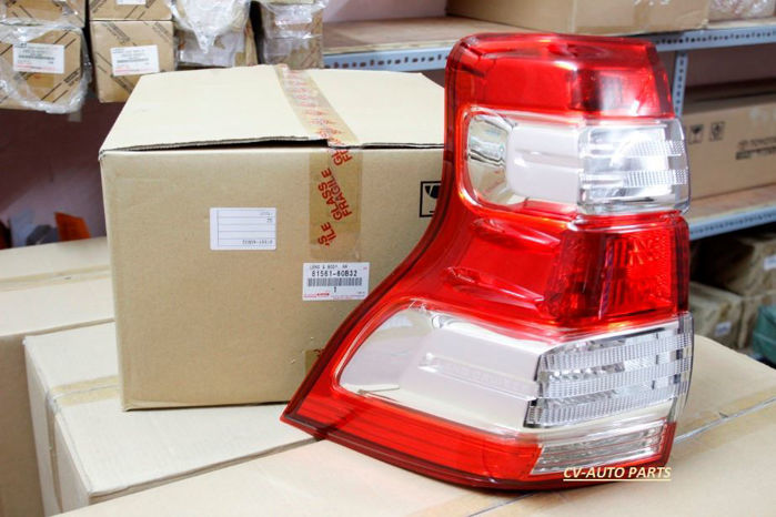 Picture of 81561-60B32 Đèn hậu trái Toyota Land Cruiser Prado model 2013-2014-2015-2016