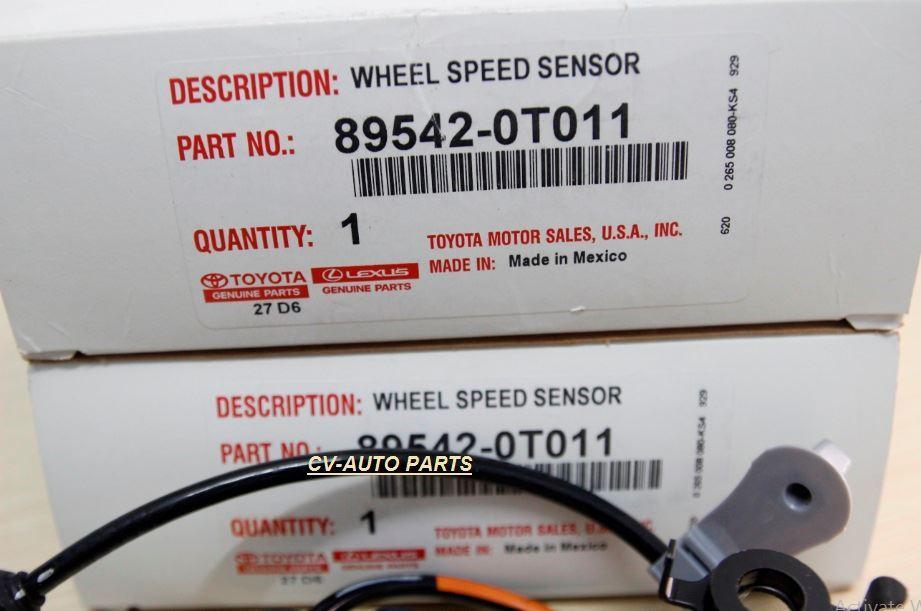 Picture of 89542-0T010 Cảm biến ABS trước phải Toyota Venza