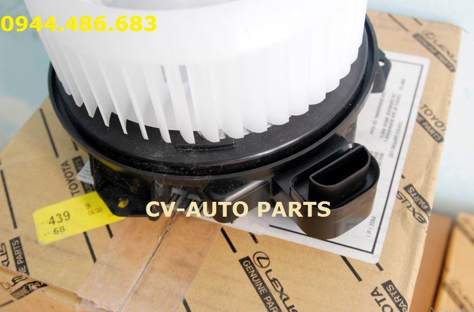 Picture of 87103-60400 87103-60410 quạt điều hòa, quạt giàn lạnh Lexus GX460, Land Cruiser Prado