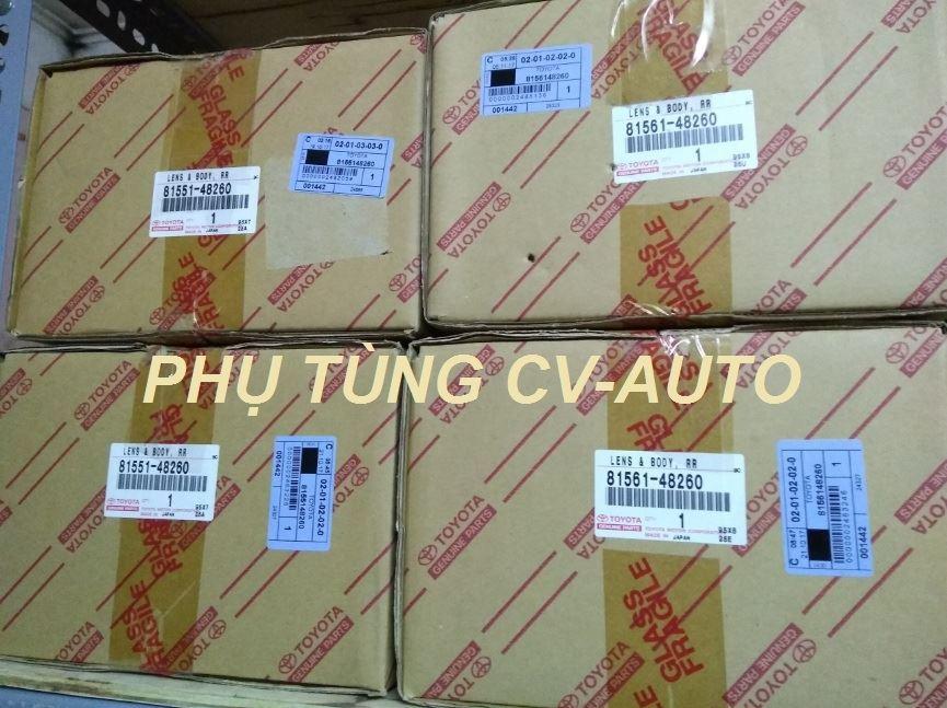 Picture of 81551-48260 Đèn hậu miếng ngoài Lexus RX350 RX450H chính hãng