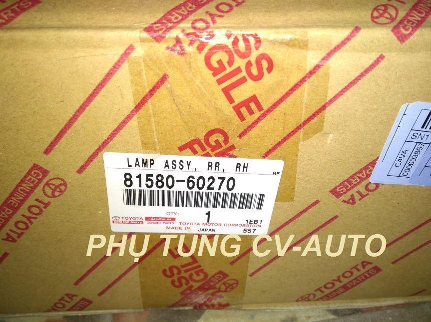 Picture of 81580-60270/81590-60300 Đèn hậu miếng trong Lexus LX570 đời 2013 2014 2015