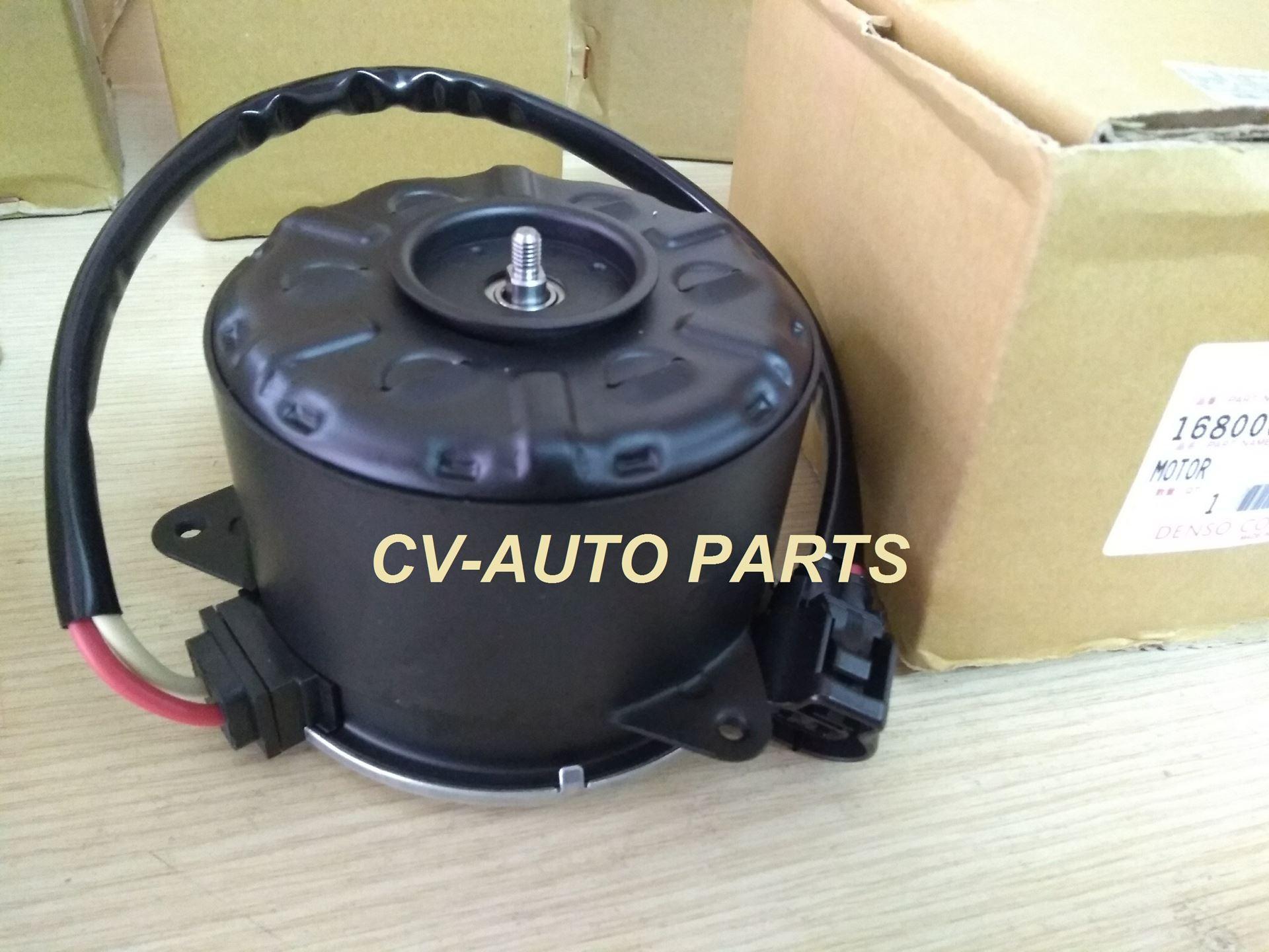 Picture of 16363-75030 Motor quạt làm mát két nước Toyota Hiace cá mập Denso chính hãng