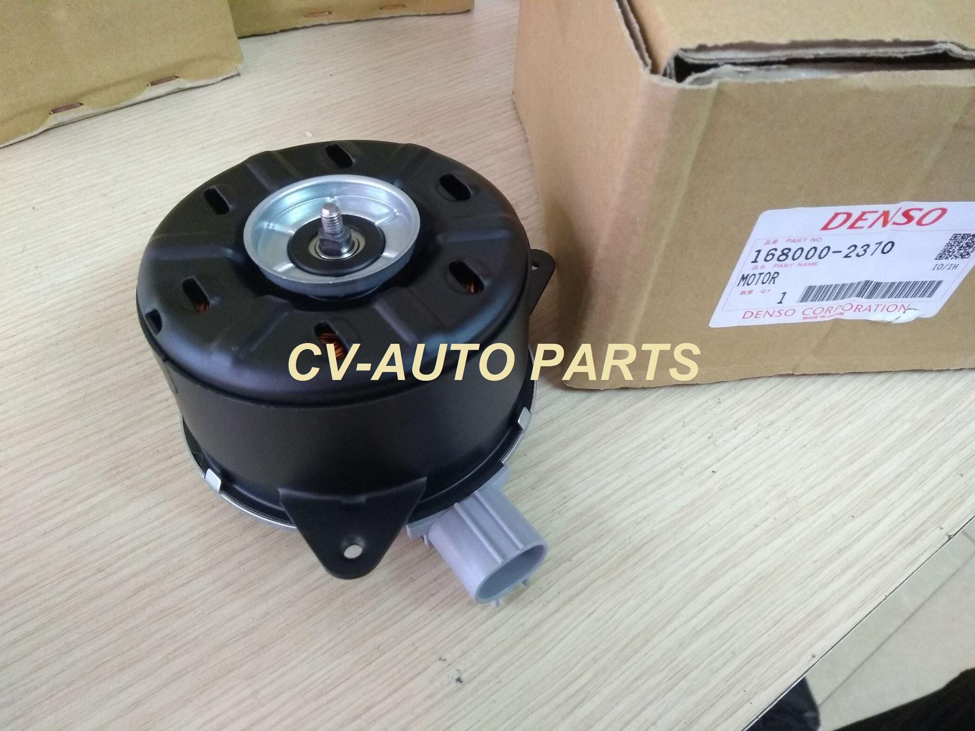 Picture of 16363-0M020 Mô tơ quạt két nước Toyota Vios chính hãng Denso