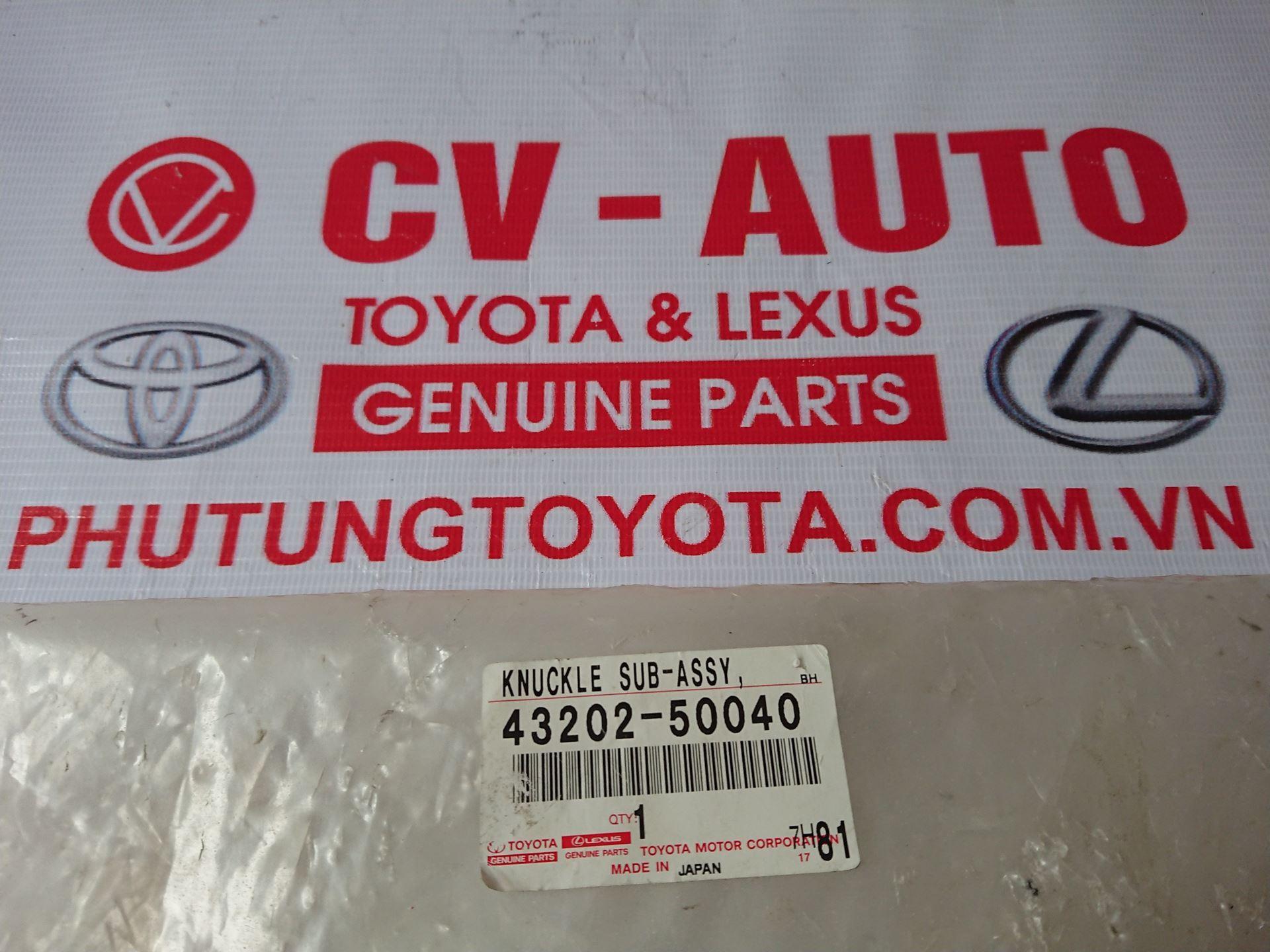 Picture of 43202-50040 Trụ lái Lexus LS600H hàng chính hãng