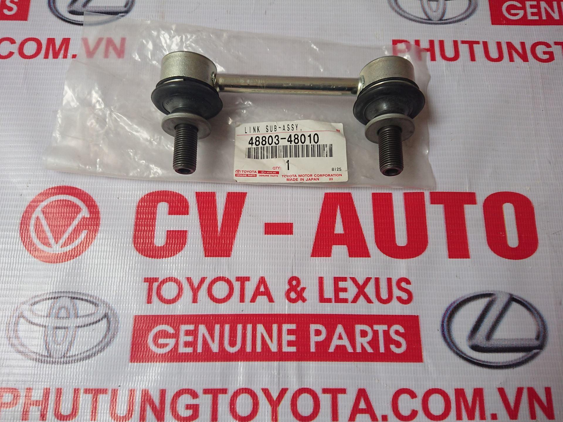 Picture of 48803-48010 Rotuyn cân bằng sau lái Lexus RX350/450 chính hãng