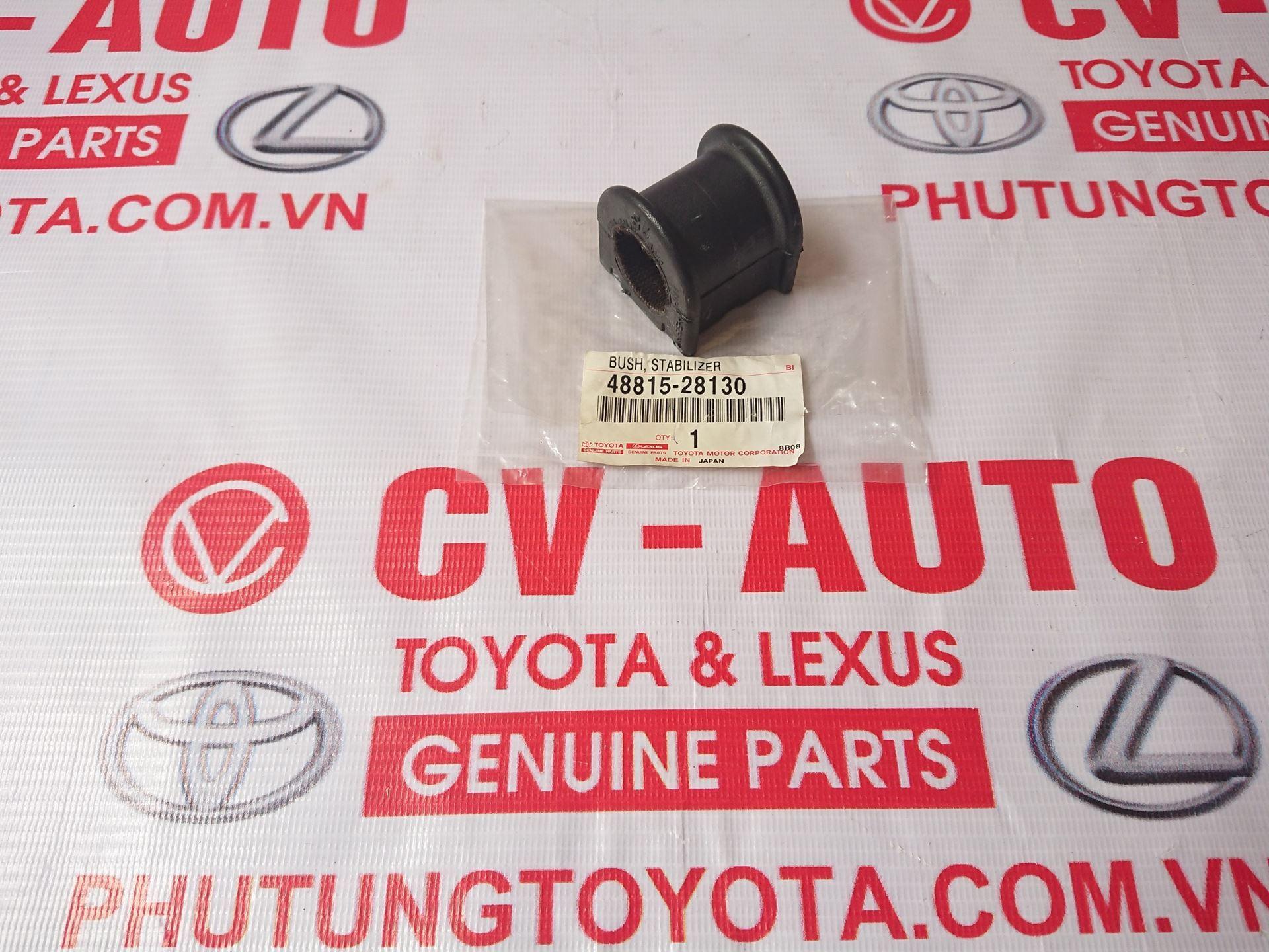 Picture of 48815-28130 Cao su cân bằng trước Toyota Venza AGV10, Lexus ES350 chính hãng