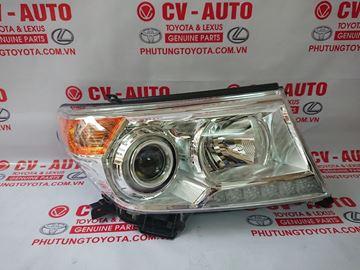Hình ảnh của81145-60F30 Đèn pha phải Toyota Land Cruiser model 2013 2014 2015