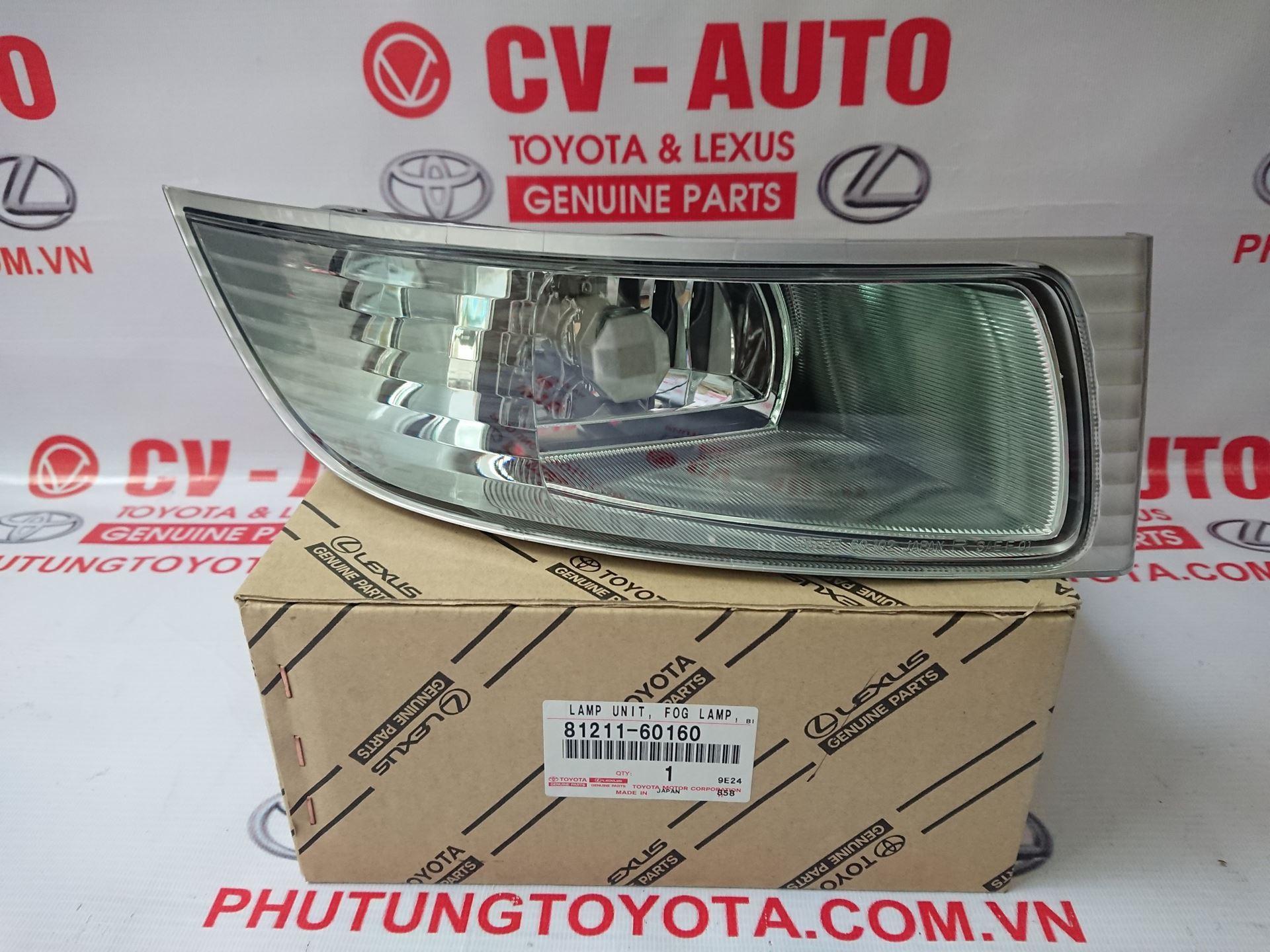 Picture of 81211-60160 81221-60080 Đèn gầm, đèn sương mù Lexus GX470