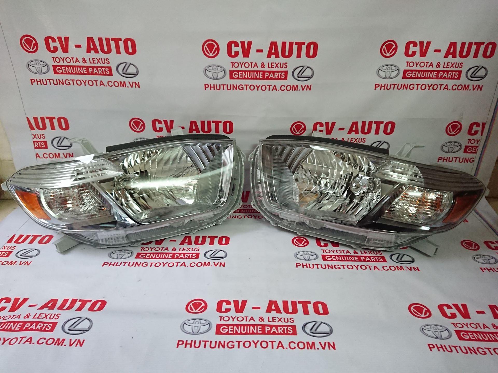 Picture of 81130-48470 81170-48460 Đèn pha trái, phải Toyota Highlander 2007-2010
