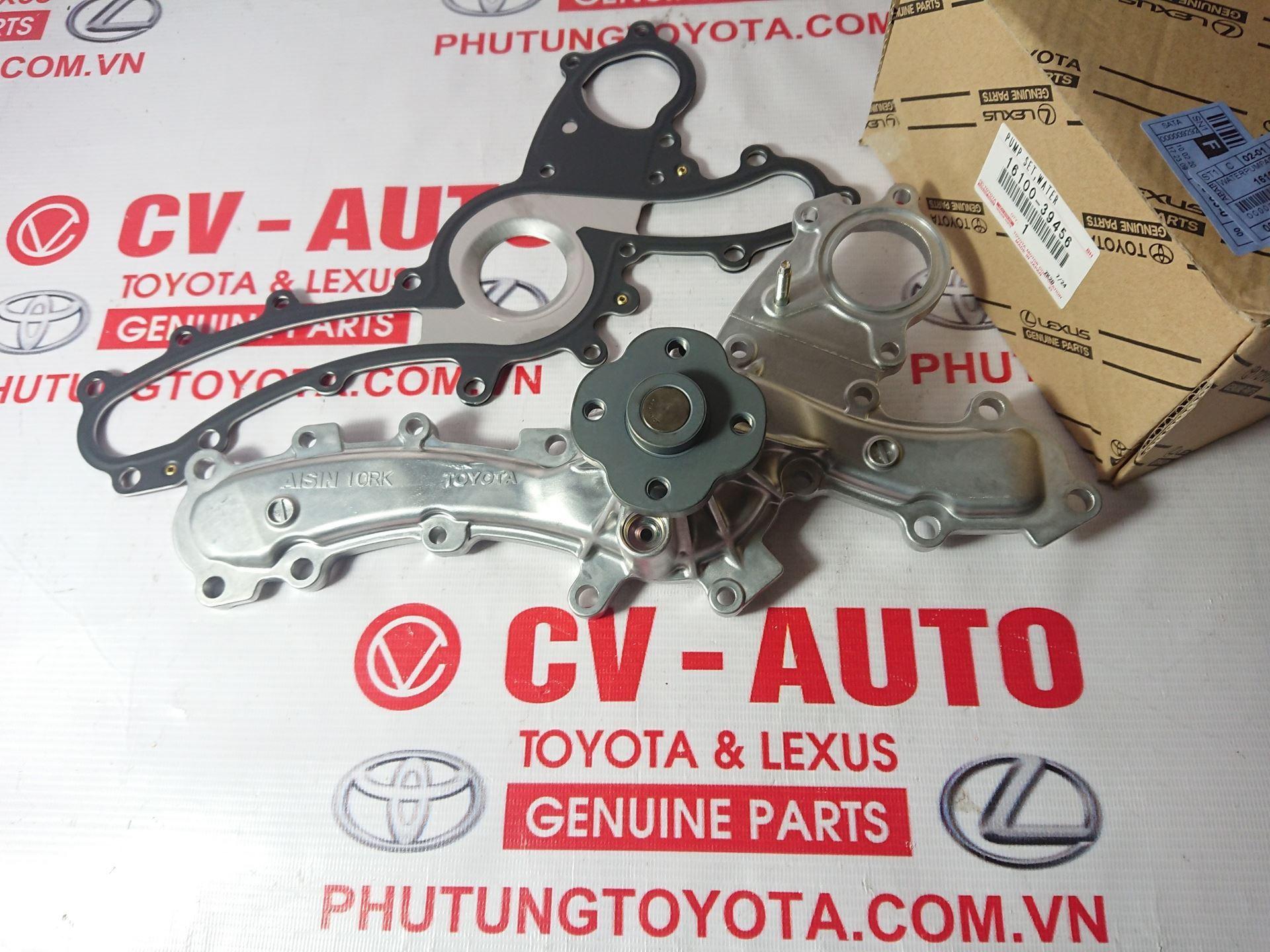 Picture of 16100-39456 Bơm nước Toyota Lexus động cơ 2GR chính hãng