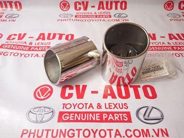 Hình ảnh của17408-74080 Ốp đuôi bô Lexus GS300, GS350 hàng chính hãng