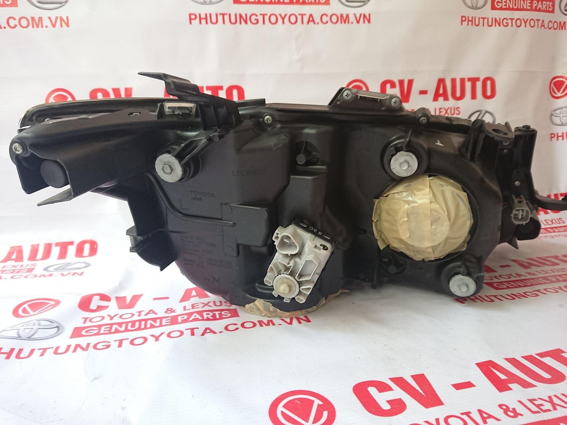 Picture of 81185-33G70 Đèn pha trái Toyota Camry 2018 hàng chính hãng