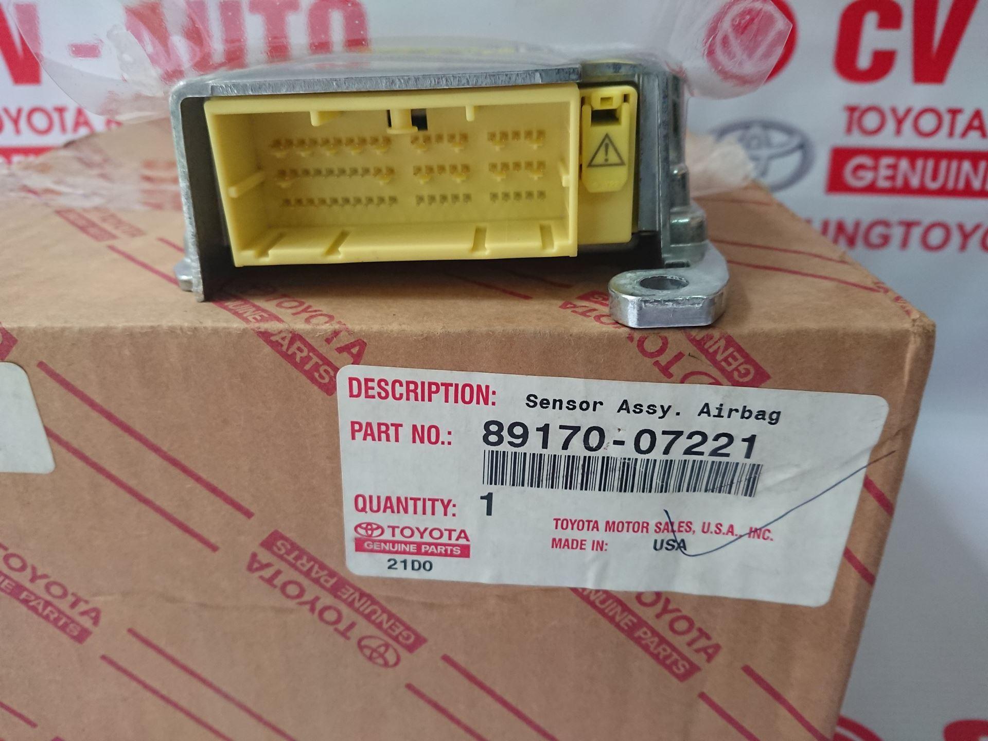 Picture of 89170-07221 Hộp điều khiển túi khí Avalon hàng chính hãng