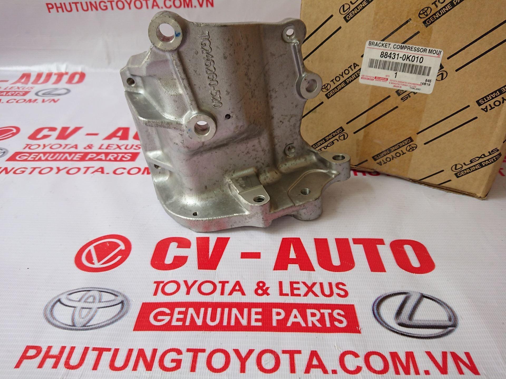 Picture of 88431-0K010 Giá bắt lốc điều hòa Toyota Innova, Fortuner chính hãng