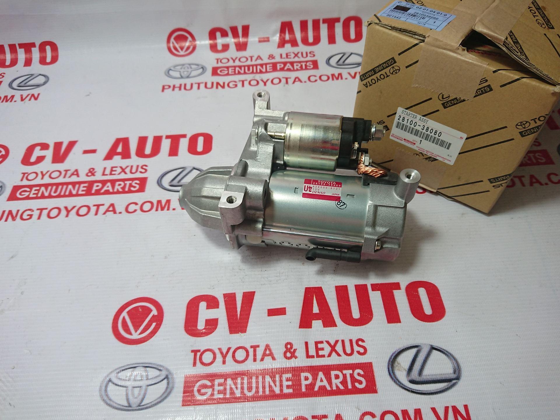 Picture of 28100-38080 Củ đề, máy đề khởi động Lexus LX570, Toyota Land Cruiser