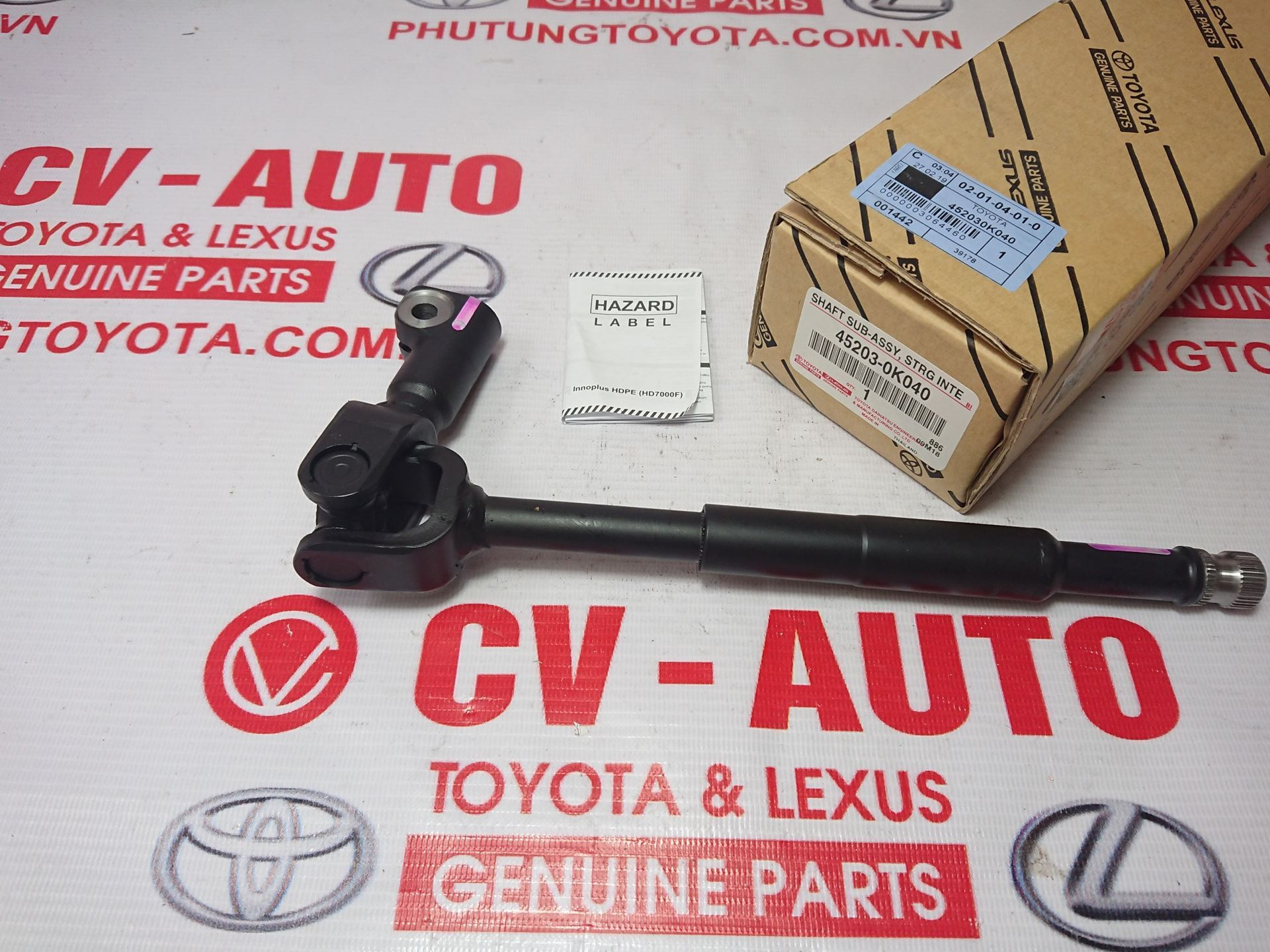 Picture of 45203-0K040 Khớp lái dưới Toyota Fortuner, Hilux giá tốt