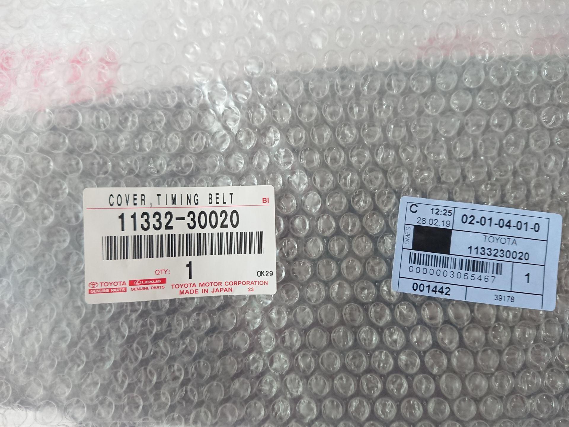 Picture of 11332-30020 Nắp cam ngoài động cơ Toyota Fortuner, Hilux, Hiace máy 1KD, 2KD