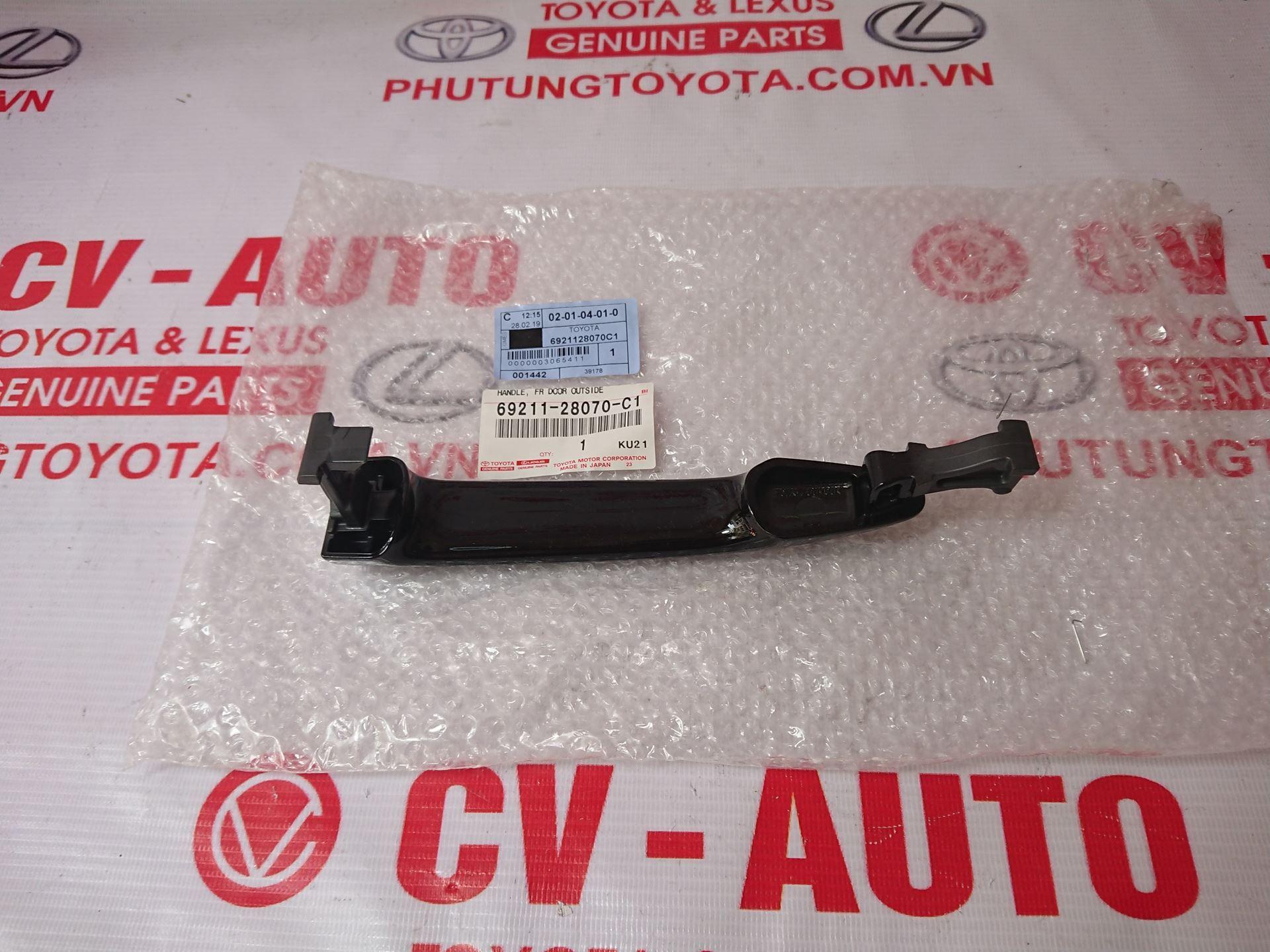 Picture of 69211-28070-C1                                                                                                                                                                                                                                                                                         Tay mở cửa ngoài Toyota Camry Mỹ, Prado, GX470 giá tốt