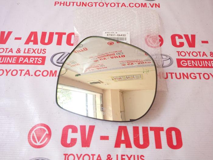 Picture of 87931-6A430 Mặt gương phải Lexus GX470 hàng chính hãng