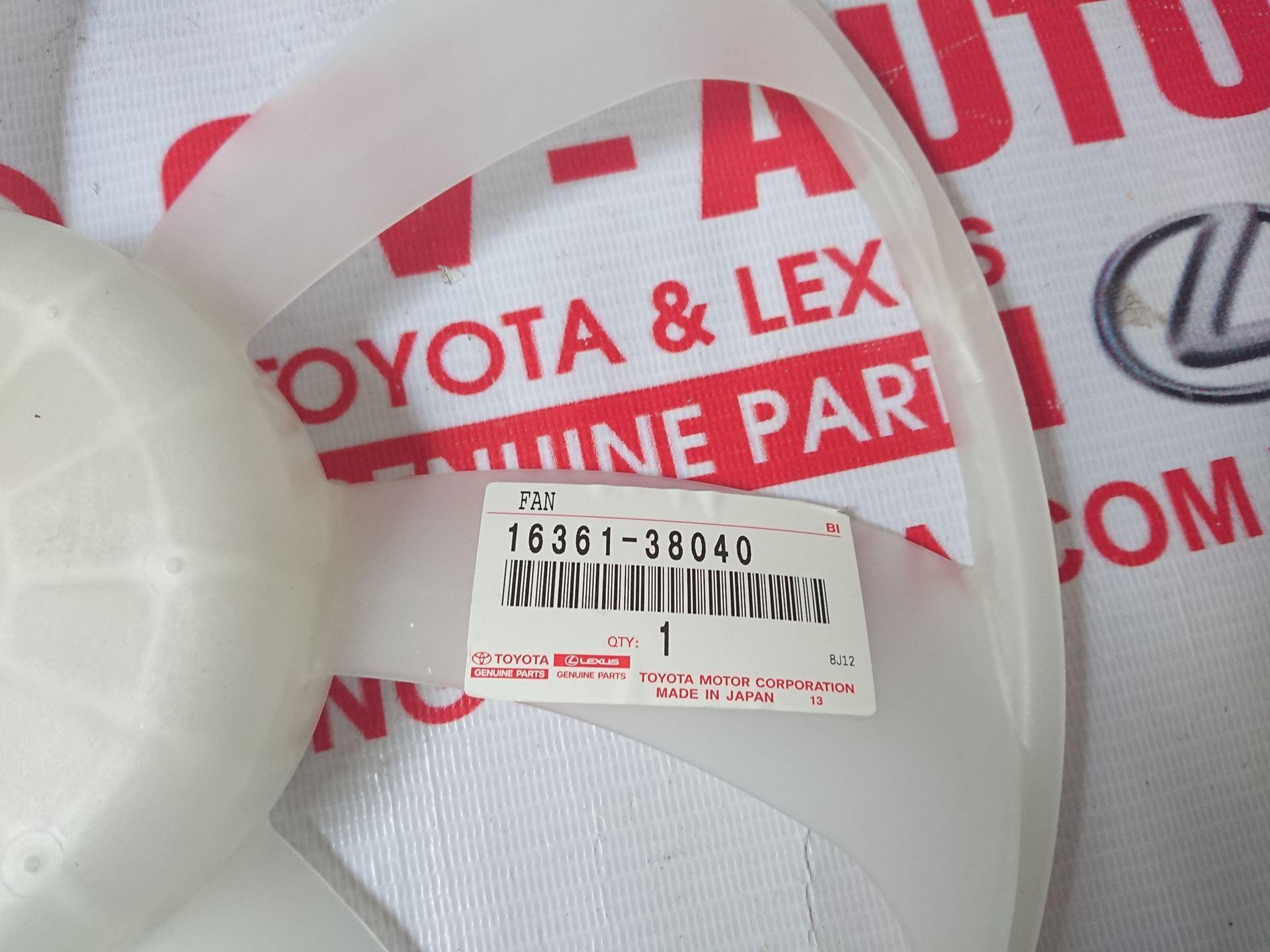 Picture of 16361-38040 Cánh quạt két nước Lexus LS460 hàng chính hãng