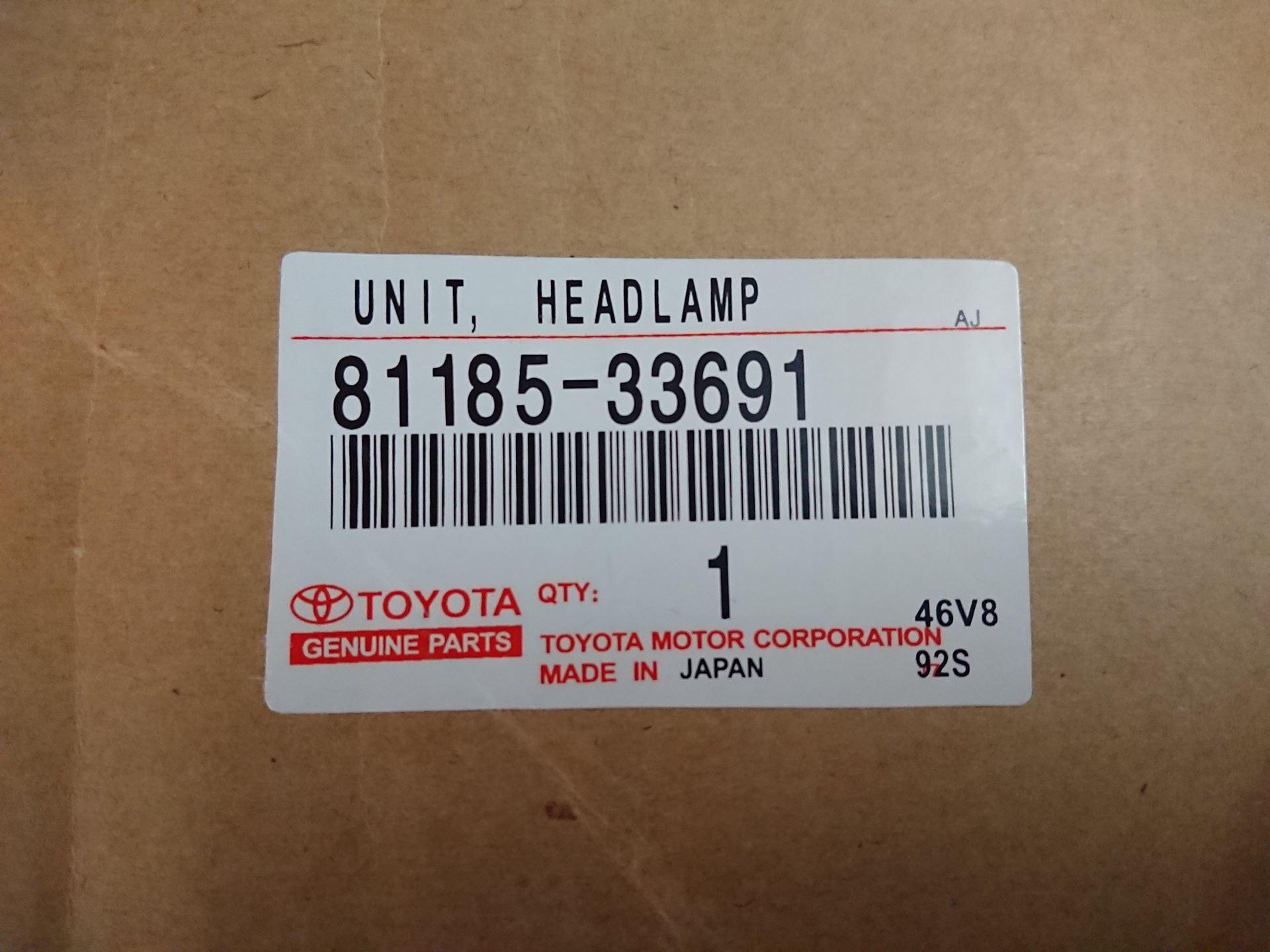 Picture of 81185-33691 Đèn pha Lexus ES350 hàng chính hãng