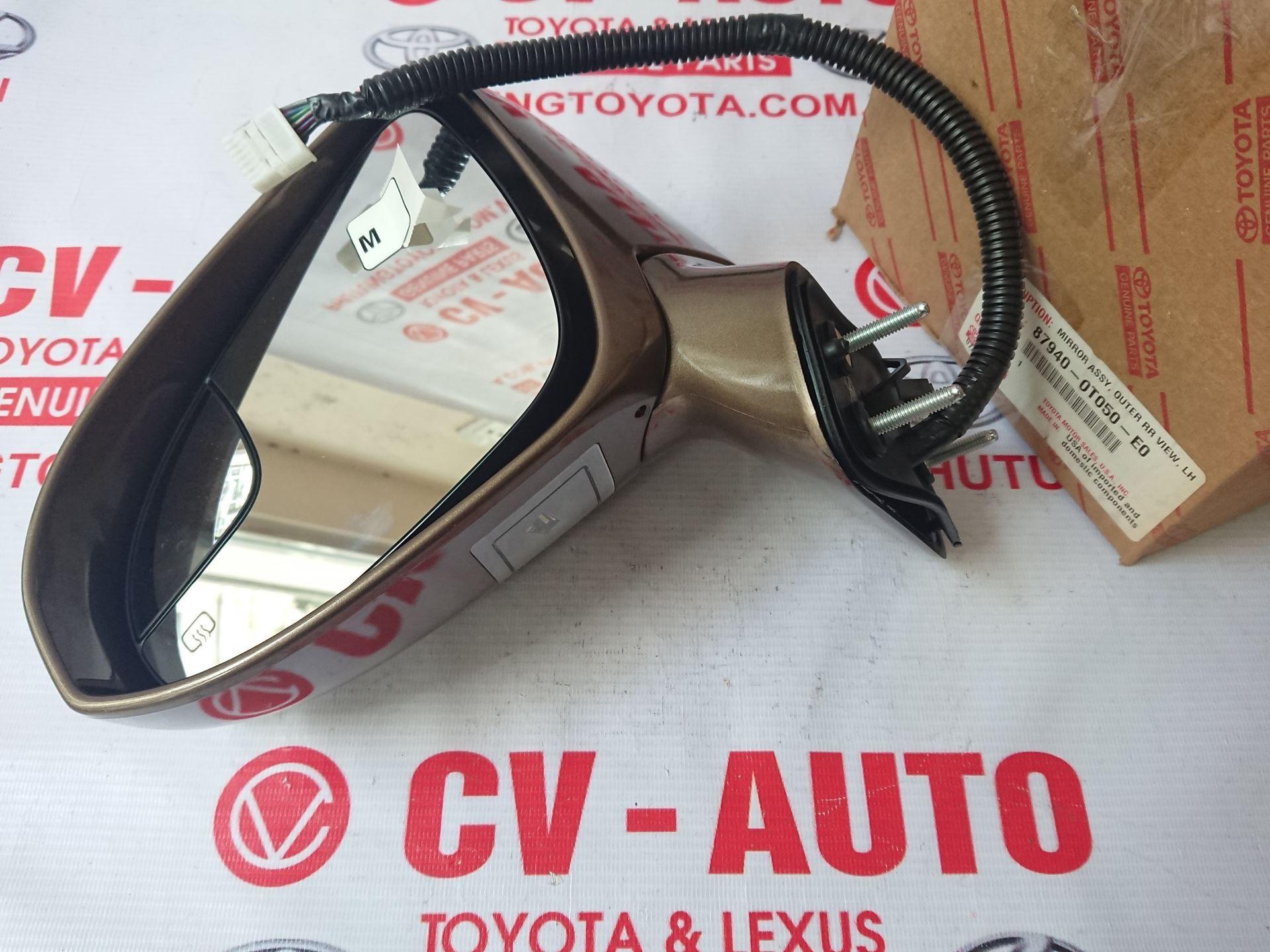 Picture of 87940-0T050-E0 87910-0T050-E0 Gương trái, phải Toyota Venza hàng chính hãng