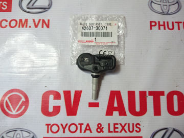 Hình ảnh của42607-30071 Cảm biến áp suất lốp Toyota, Lexus hàng chính hãng CT200H, IS250, IS300, IS350, RC350, RC300, RC200T, ES350H, ES300H, GS300, GS350, GS450, LS460, LS600H, RX350, RX450H, NX200, NX300