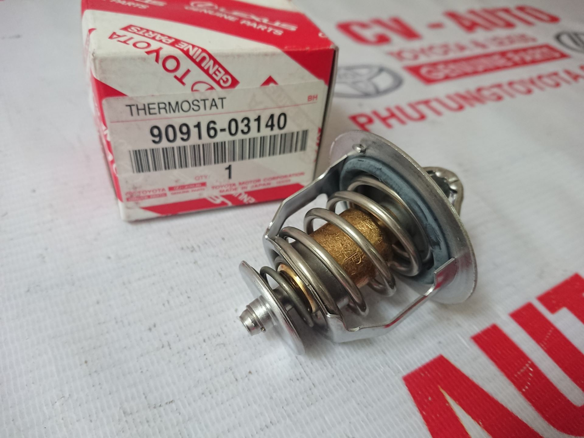 Picture of 90916-03140 Van hằng nhiệt động cơ 2GR hàng chính hãng