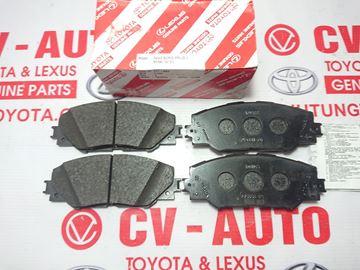 Hình ảnh của04465-42180 Má phanh trước Toyota RAV4 hàng chính hãng
