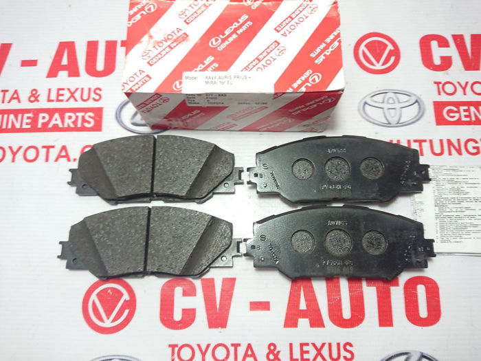Picture of 04465-42180 Má phanh trước Toyota RAV4 hàng chính hãng