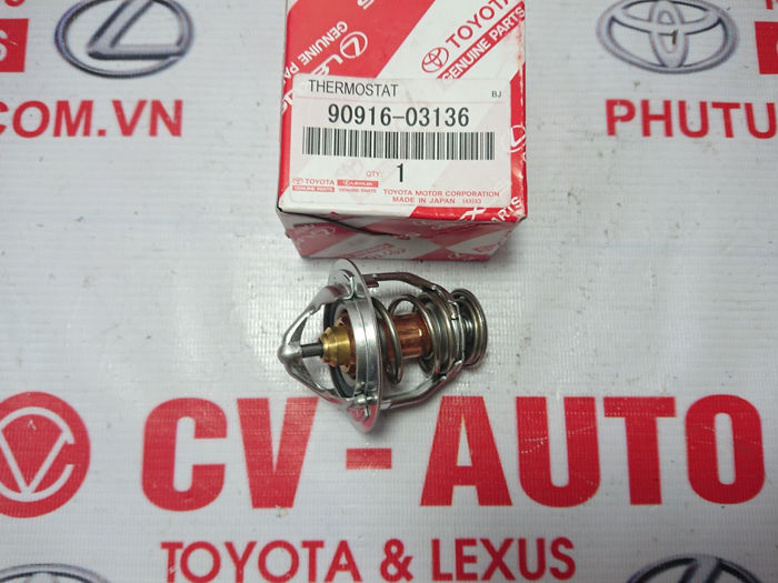 Picture of 90916-03136 Van hằng nhiệt Toyota Camry hàng chính hãng