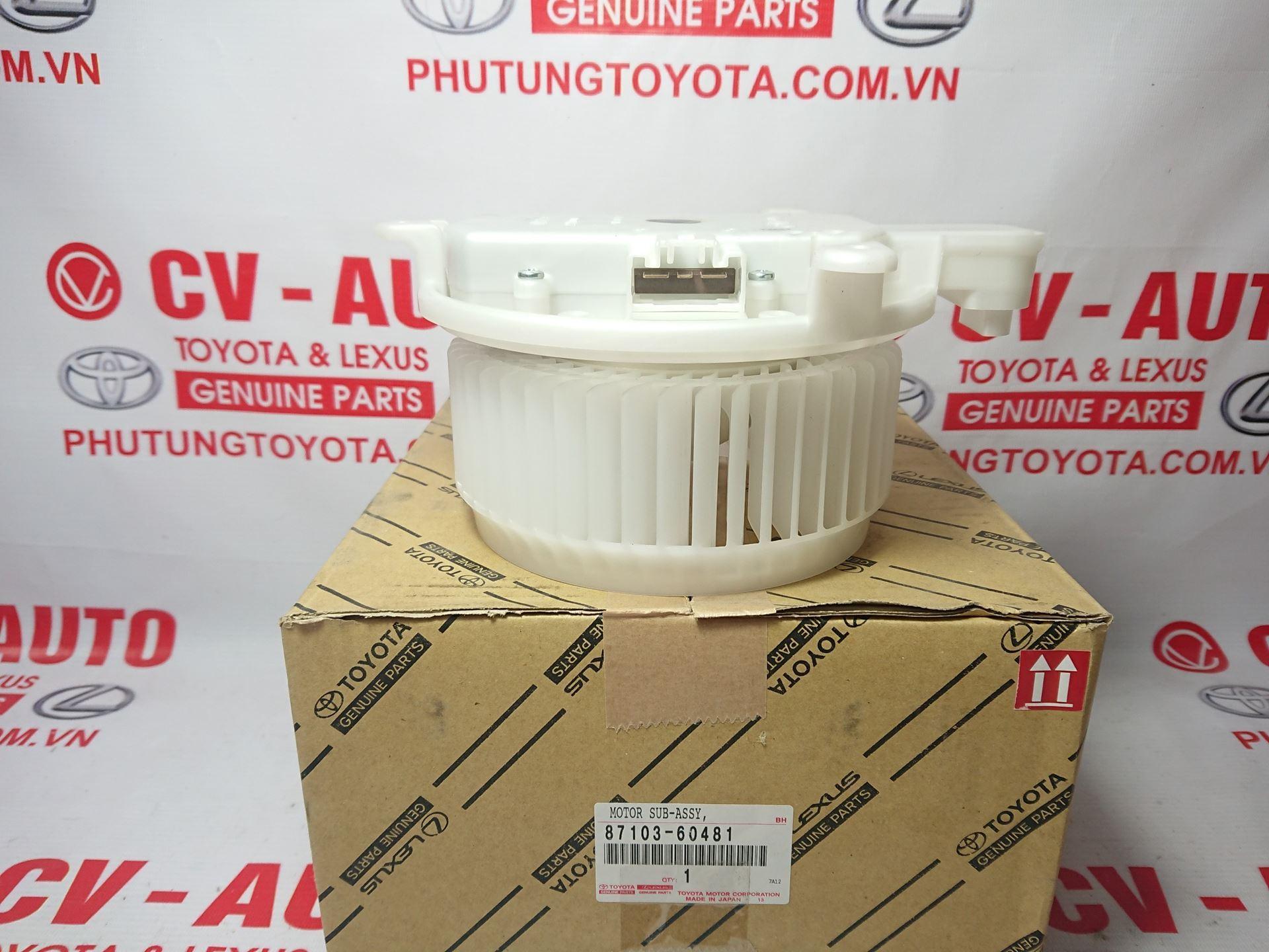 Picture of 87103-60481 Quạt giàn lạnh trước Lexus LX570, LS460 giá tốt