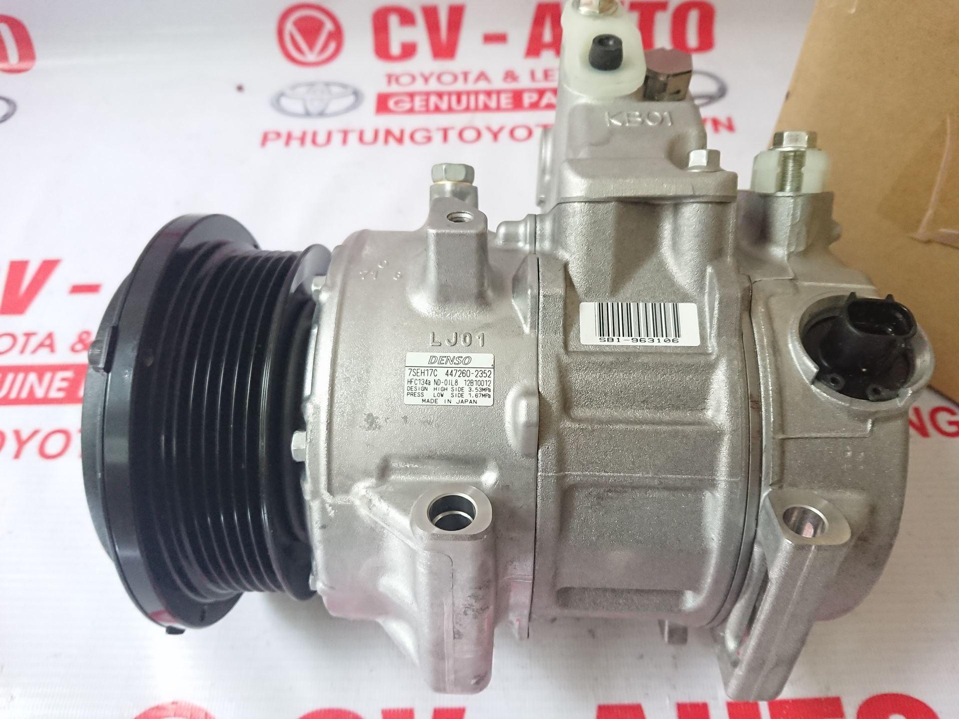 Picture of 447150-0361 Lốc điều hòa Toyota Venza hàng chính hãng