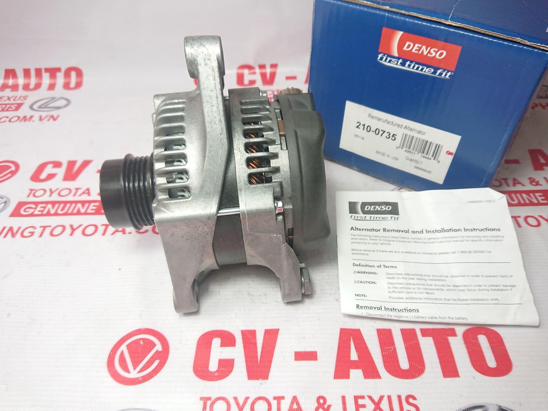 Picture of 210-0735 27060-0V060 27060-36050 Máy phát Toyota Camry 2.5 ASV40 hàng chính hãng