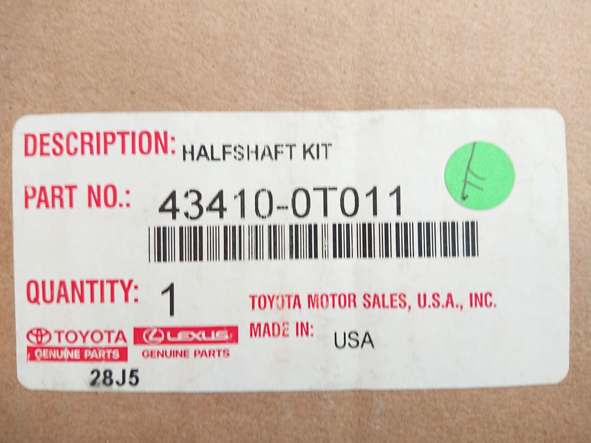Picture of 43410-0T011 Cây láp phải Toyota Venza hàng chính hãng