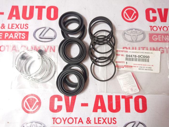 Picture of 04478-0C050 Cupen phanh trước Lexus LX570 chính hãng